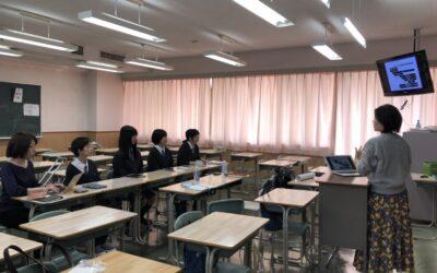 品川女子学院の学生さんとお話ししてきました!